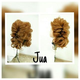 ゆるふわ くるりんぱ ヘアアレンジ ツインテール ヘアスタイルや髪型の写真・画像