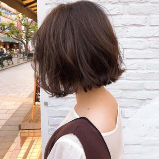 ショートヘア ボブ ハンサムショート ナチュラル ヘアスタイルや髪型の写真・画像 ヘアスタイルや髪型の写真・画像