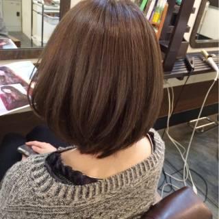 暗髪 グレー 大人かわいい ナチュラル ヘアスタイルや髪型の写真・画像