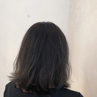 アウトドア 簡単ヘアアレンジ スモーキーカラー カーキアッシュ ヘアスタイルや髪型の写真・画像