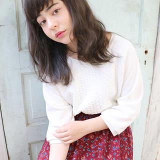 前髪あり 外国人風 ストリート 暗髪 ヘアスタイルや髪型の写真・画像
