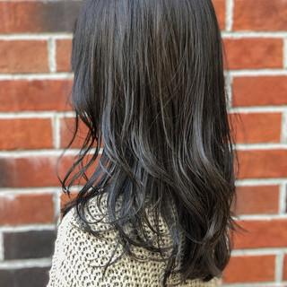 ハイライト ナチュラル イルミナカラー 簡単ヘアアレンジ ヘアスタイルや髪型の写真・画像