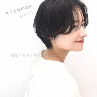 ベリーショート ショート 大人かわいい ショートボブ ヘアスタイルや髪型の写真・画像