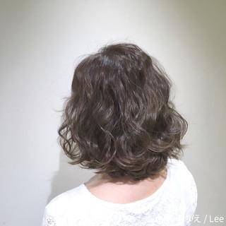 外国人風 暗髪 ボブ ナチュラル ヘアスタイルや髪型の写真・画像