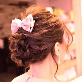 愛され コンサバ ヘアアレンジ モテ髪 ヘアスタイルや髪型の写真・画像