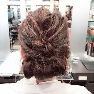 ボブ 大人かわいい フェミニン ヘアアレンジ ヘアスタイルや髪型の写真・画像