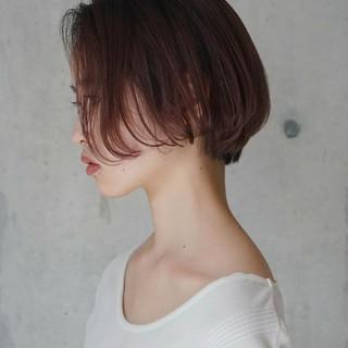 大人女子 ナチュラル こなれ感 ショートボブ ヘアスタイルや髪型の写真・画像