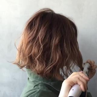 ウェットヘア ボブ ヘアアレンジ グラデーションカラー ヘアスタイルや髪型の写真・画像