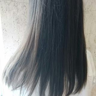 大人かわいい アッシュ ロング パーマ ヘアスタイルや髪型の写真・画像 ヘアスタイルや髪型の写真・画像