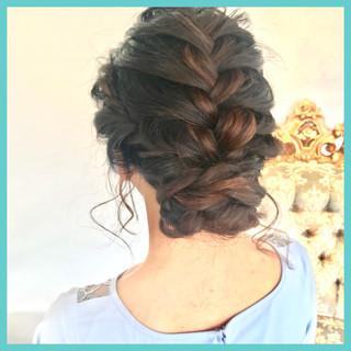 結婚式 アンニュイほつれヘア パーティ ヘアアレンジ ヘアスタイルや髪型の写真・画像