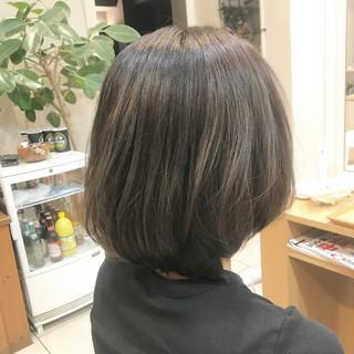 上品 ボブ 色気 艶髪 ヘアスタイルや髪型の写真・画像
