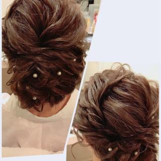 振袖 ガーリー アップスタイル ルーズ ヘアスタイルや髪型の写真・画像 ヘアスタイルや髪型の写真・画像
