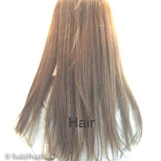 アッシュ 外国人風カラー ハイトーン ナチュラル ヘアスタイルや髪型の写真・画像