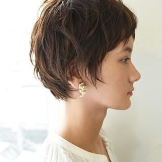 外国人風 ナチュラル 秋 前髪あり ヘアスタイルや髪型の写真・画像 ヘアスタイルや髪型の写真・画像