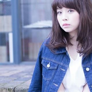 大人女子 ニュアンス 黒髪 大人かわいい ヘアスタイルや髪型の写真・画像