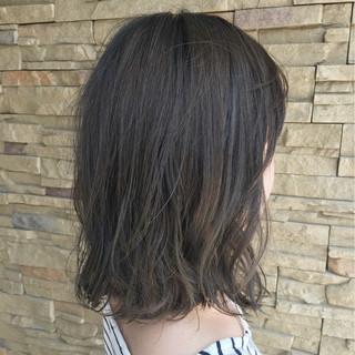 ハイライト フェミニン 秋 透明感 ヘアスタイルや髪型の写真・画像