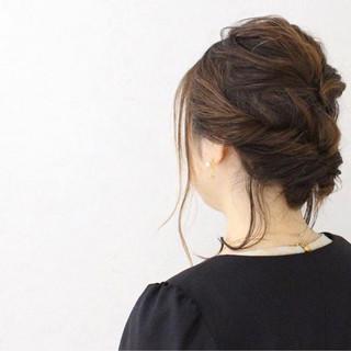 女子会 ナチュラル ヘアアレンジ ゆるふわ ヘアスタイルや髪型の写真・画像 ヘアスタイルや髪型の写真・画像