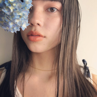 東峰 愛さんのヘアスナップ