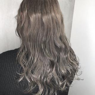 ロング オフィス ナチュラル ヘアアレンジ ヘアスタイルや髪型の写真・画像 ヘアスタイルや髪型の写真・画像