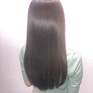 ロング ナチュラル ツヤツヤ 髪質改善 ヘアスタイルや髪型の写真・画像