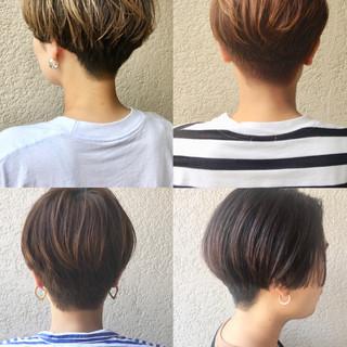 スポーツ アウトドア ショートヘア 刈り上げショート ヘアスタイルや髪型の写真・画像