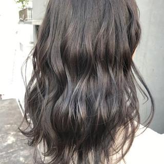 マット 外国人風 透明感 セミロング ヘアスタイルや髪型の写真・画像