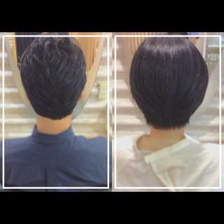 ショートヘア ナチュラル 髪質改善 ショート ヘアスタイルや髪型の写真・画像