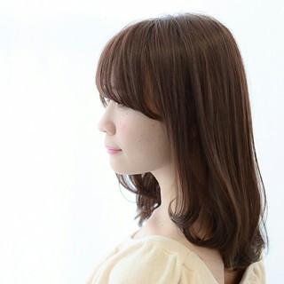 フェミニン 大人かわいい こなれ感 前髪あり ヘアスタイルや髪型の写真・画像