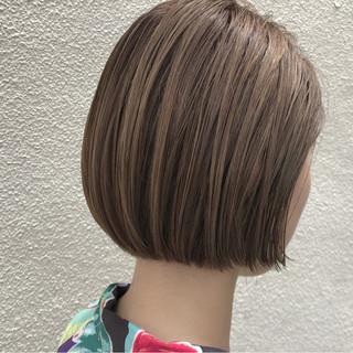 ナチュラル ショート ショートボブ ボブ ヘアスタイルや髪型の写真・画像