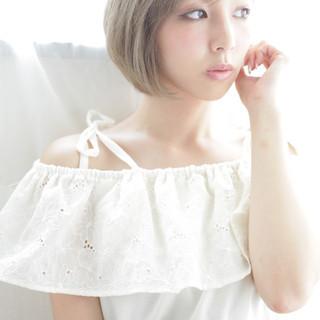 秋 マッシュ デート 透明感 ヘアスタイルや髪型の写真・画像 ヘアスタイルや髪型の写真・画像