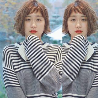 ウルフカット 外国人風 ガーリー イルミナカラー ヘアスタイルや髪型の写真・画像