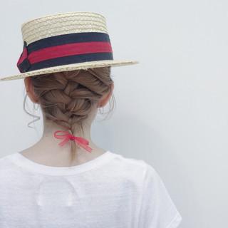 簡単ヘアアレンジ ボブ くせ毛風 ハイライト ヘアスタイルや髪型の写真・画像