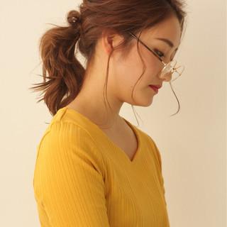 ミディアム モテ髪 大人女子 ナチュラル ヘアスタイルや髪型の写真・画像