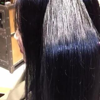 大人ロング ナチュラル 透明感カラー ロング ヘアスタイルや髪型の写真・画像