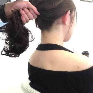 ナチュラル デート 透明感 秋 ヘアスタイルや髪型の写真・画像