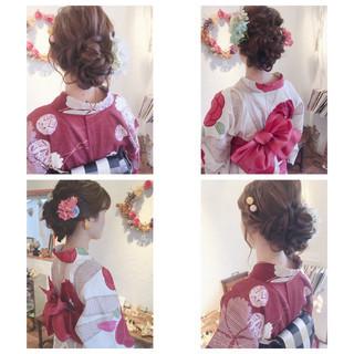 お団子 デート ロング 大人かわいい ヘアスタイルや髪型の写真・画像 ヘアスタイルや髪型の写真・画像