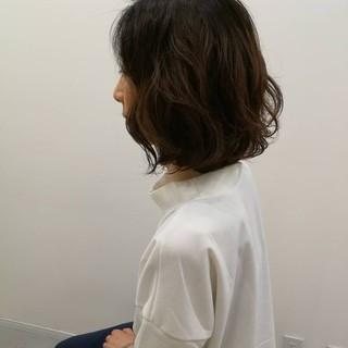 パーマ ナチュラル デジタルパーマ ゆるふわパーマ ヘアスタイルや髪型の写真・画像