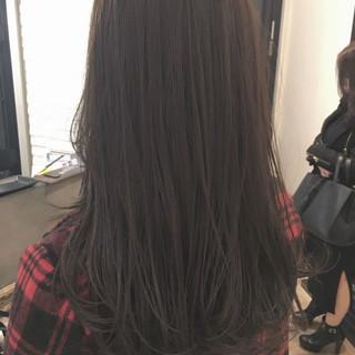 ナチュラル 大人女子 暗髪 外国人風 ヘアスタイルや髪型の写真・画像