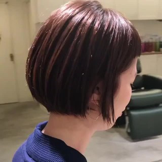 スポーツ ボブ 女子力 ストリート ヘアスタイルや髪型の写真・画像