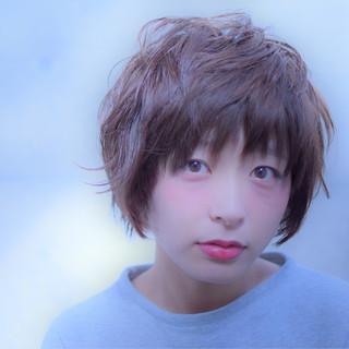 ショート こなれ感 小顔 大人女子 ヘアスタイルや髪型の写真・画像