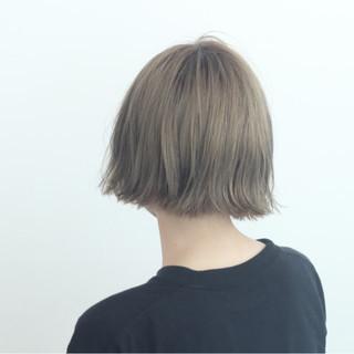 ストリート ショートボブ ボブ ダブルカラー ヘアスタイルや髪型の写真・画像