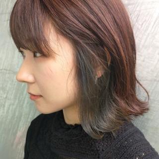 ストリート インナーカラー イルミナカラー 似合わせ ヘアスタイルや髪型の写真・画像 | 奥村北斗/表参道AnnaLanna / AnnaLanna omotesando