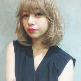 ハイライト パンク ボブ ローライト ヘアスタイルや髪型の写真・画像