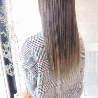 グラデーションカラー エレガント 上品 デート ヘアスタイルや髪型の写真・画像