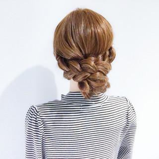 ロング 上品 ヘアアレンジ 簡単ヘアアレンジ ヘアスタイルや髪型の写真・画像