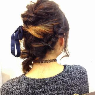ショート ハーフアップ 簡単ヘアアレンジ 大人かわいい ヘアスタイルや髪型の写真・画像