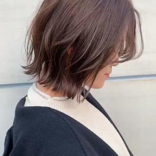 ブリーチなし 透明感カラー ナチュラル 似合わせカット ヘアスタイルや髪型の写真・画像