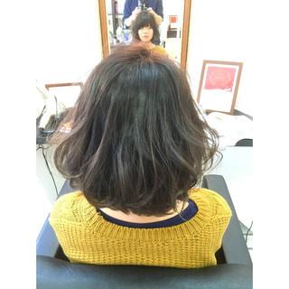 暗髪 ガーリー グラデーションカラー 外国人風 ヘアスタイルや髪型の写真・画像