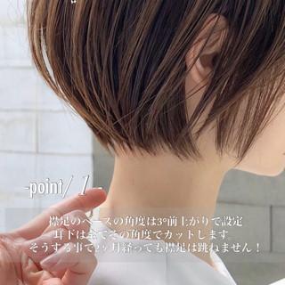 ショートヘア ショートボブ 簡単ヘアアレンジ ベリーショート ヘアスタイルや髪型の写真・画像 | ショートボブの匠【 山内大成 】『i.hair』 / 『 i. 』 omotesando