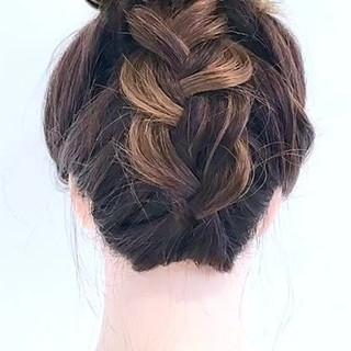 デート セミロング 外国人風 ルーズ ヘアスタイルや髪型の写真・画像